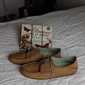 OluKai Leather Loafers Size 9